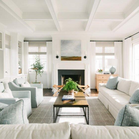 Manhattan Beach 2nd St living room