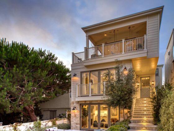 california beach home