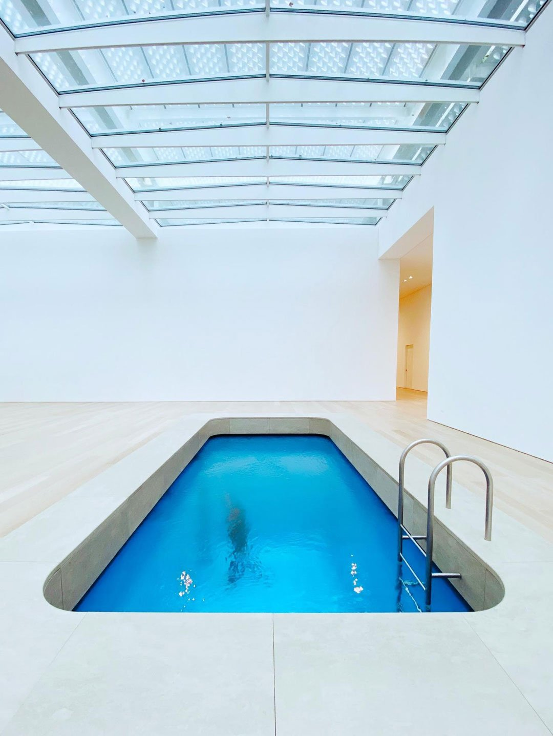 home gym ideas: pool in basement