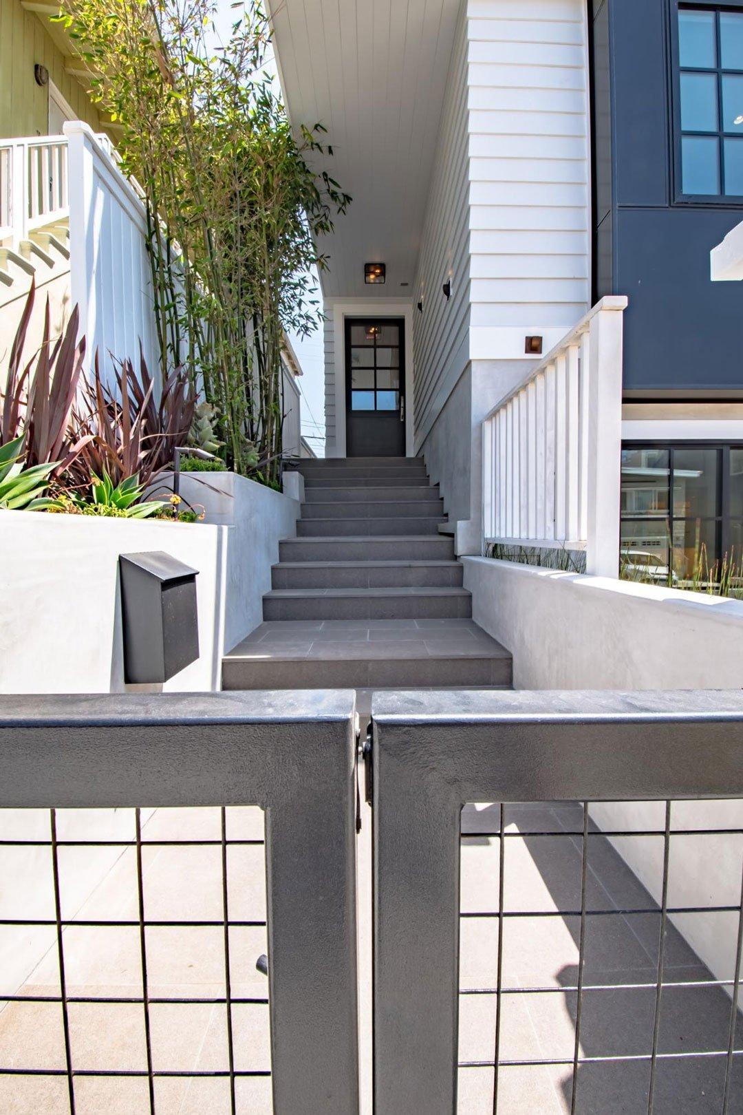 California Beach Home Stairway