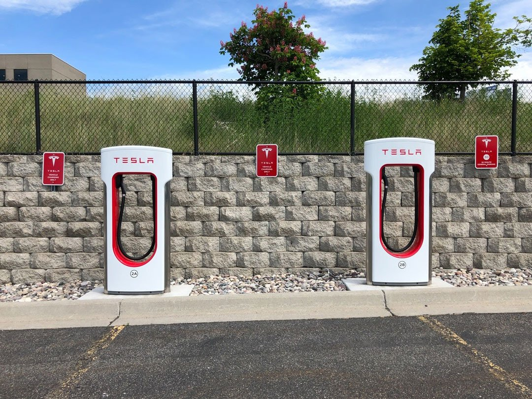 Energy-efficient Car Chargers from Tesla
