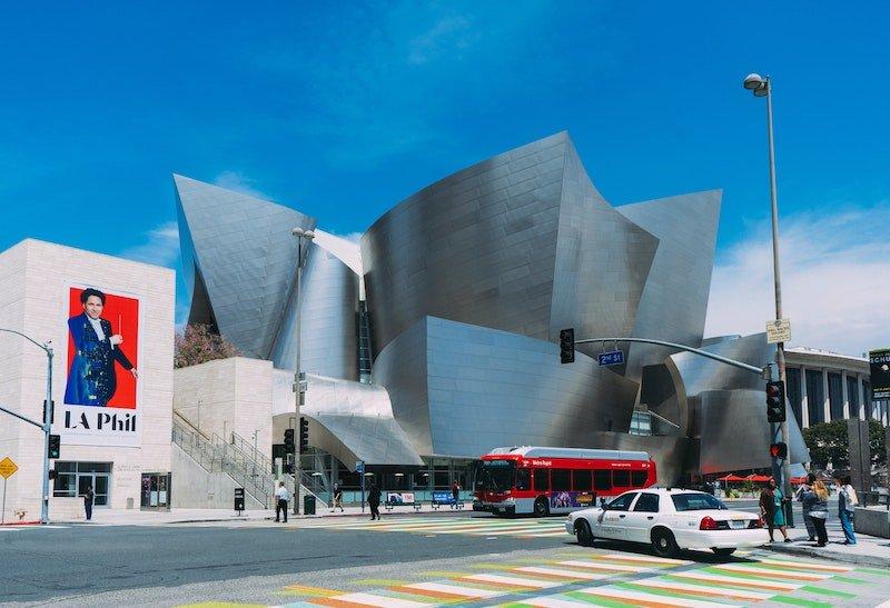 walt disney concert hall move to LA beach towns